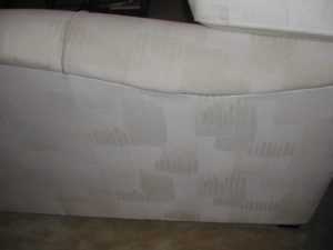 upholstery cleaning results